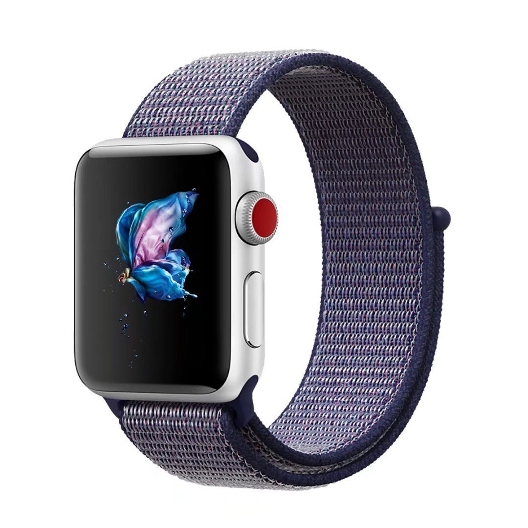 Midnight Blue Sports loop for iWatch Series 1/ Series 2