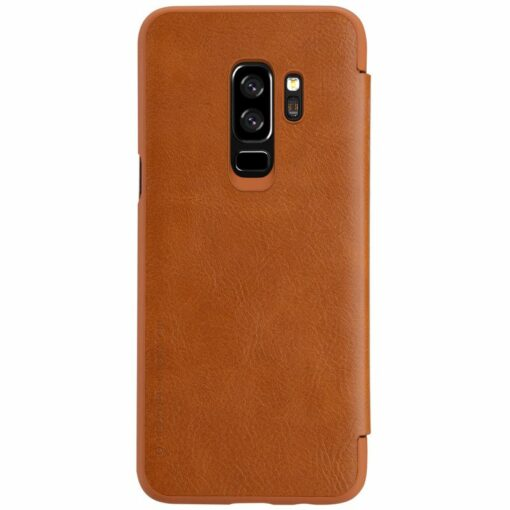 Brown leather Flip Samsung Galaxy S9 / S9 plus Samsung Galaxy S9
