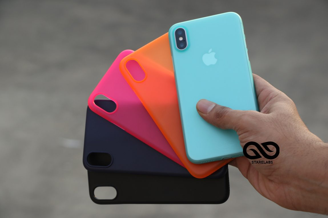 new styles 7e87f 24ec5 Translucent Thin case for iPhone X