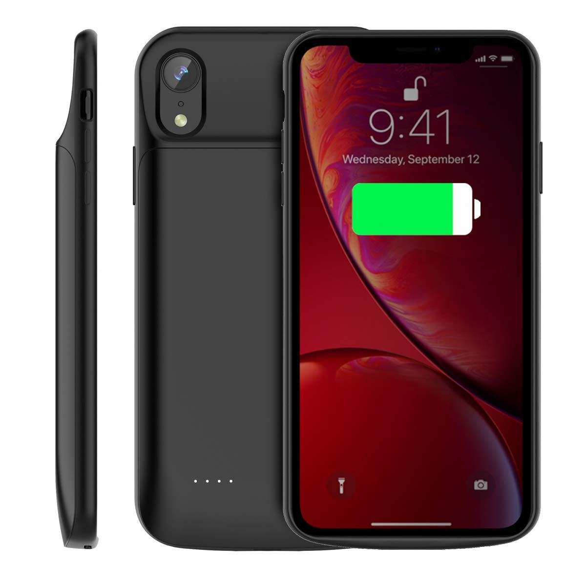 check out 7dfc8 8318b iPhone XR Power case / Battery Case 4000 Mah