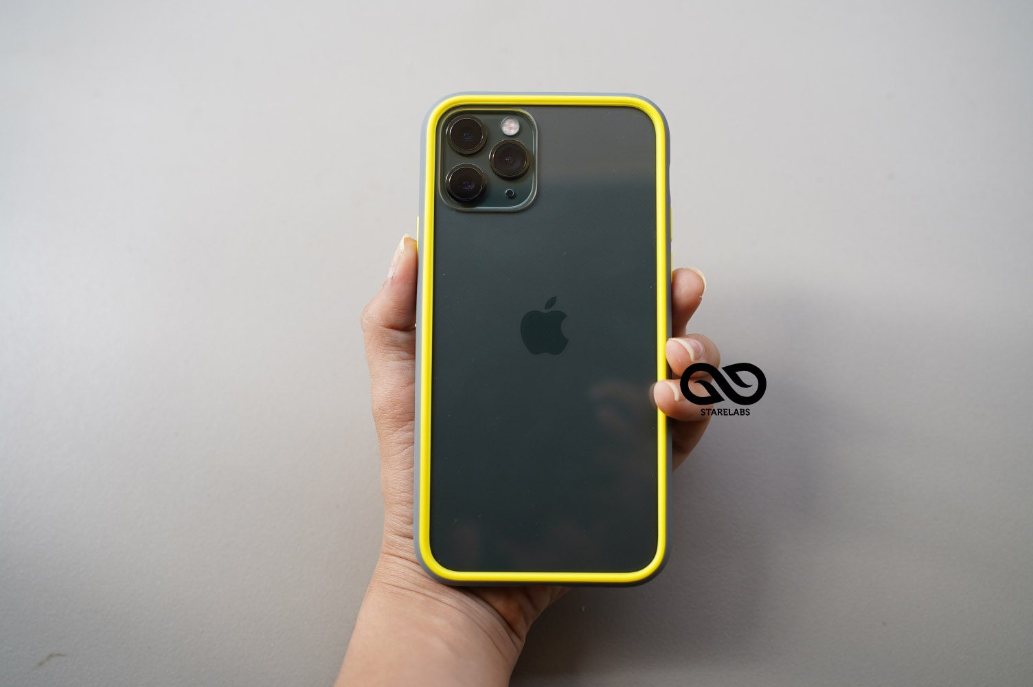 Drop Protection Yellow Grey Minimal Case Starelabs India